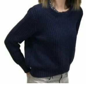 Philip Lim for Target 3.1 Chunky Navy Blue Sweater